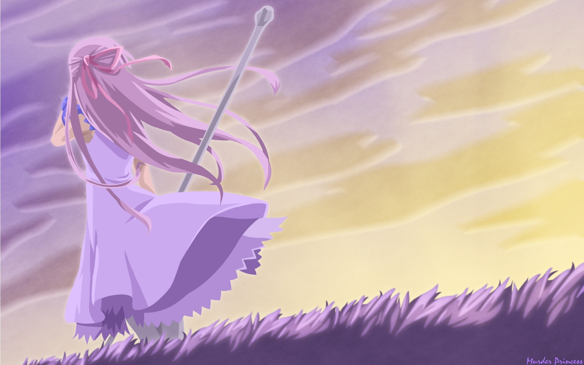Anime Girl Alone Chrome Geek