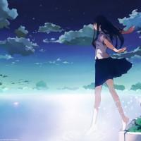 Anime-School-Girl-Wallpaper