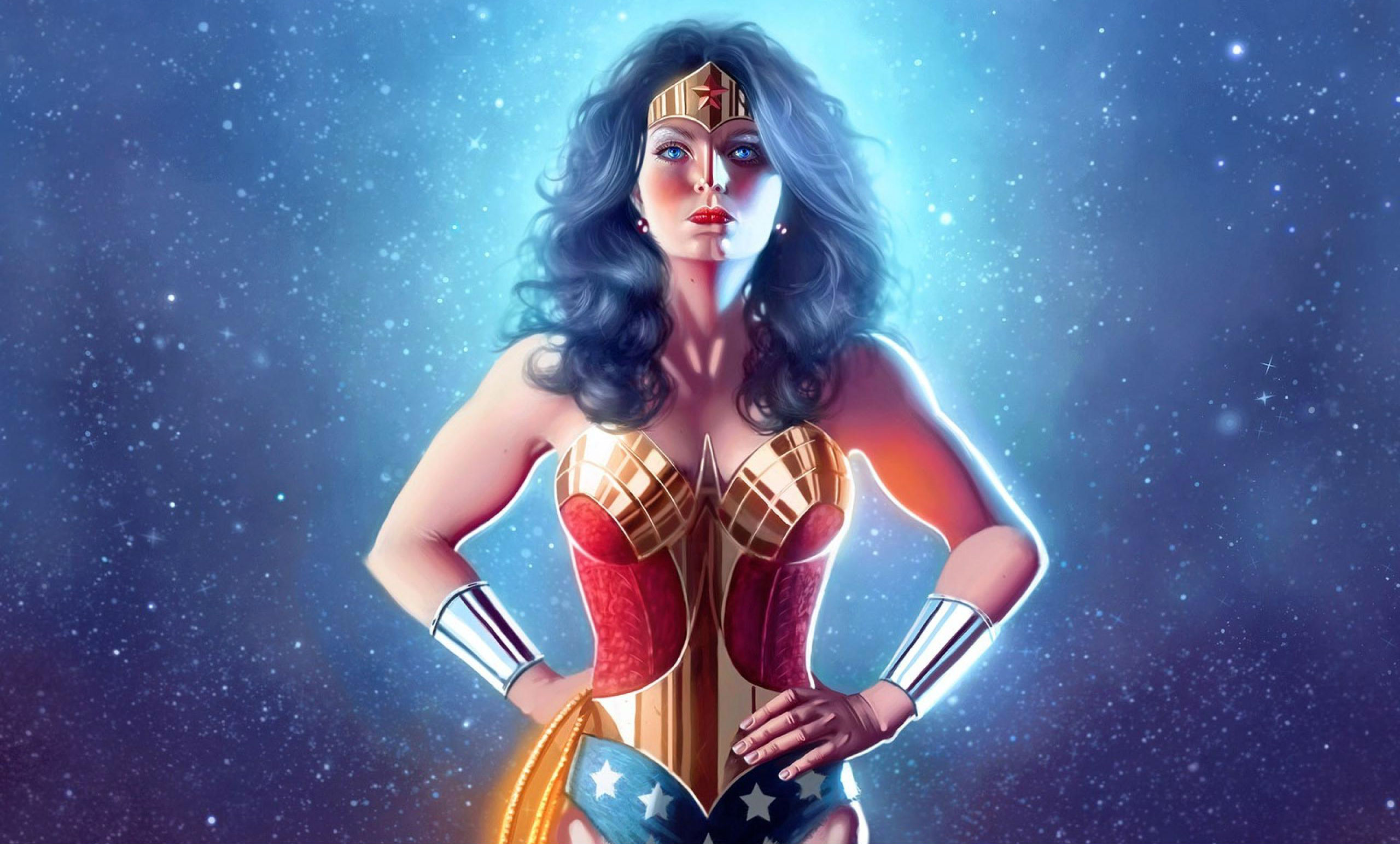 Download Female Superhero Wallpaper
