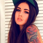 Girl-with-Fitted-Hat