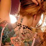 Girl-with-inked-back
