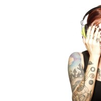 Tatted-girl-with-Headphones