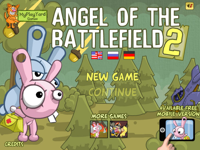 Play Angel of Battlefield 2 on Chrome