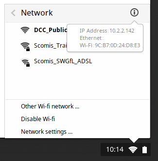 Change Your Mac Address On Chrome OS