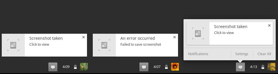 Full Screenshot on Chromebook