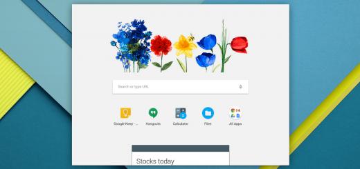 Google Now Card Launcher on Chrome OS