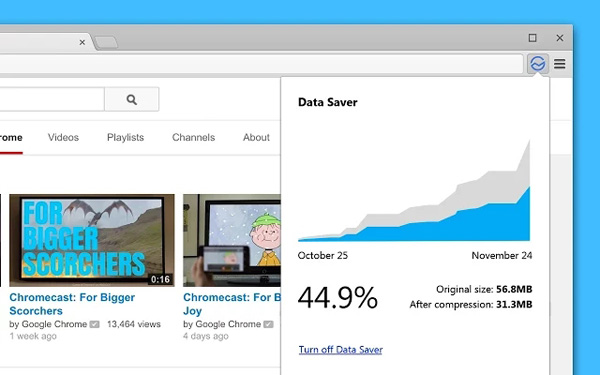 Download Google Data Saver For Chrome - Faster Browsing