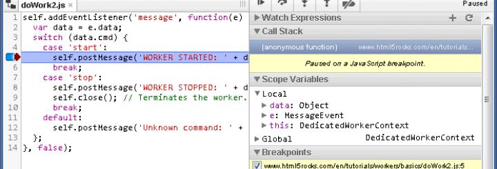 Keyboard shortcuts for developers screenshot