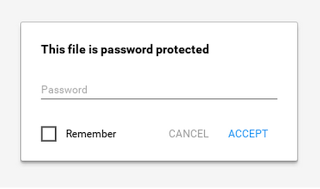 Password Protected Zip files work on Chromebook