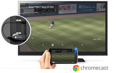 Been your Android screen to your TV with Chromecast