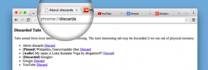 Discard Tabs Screenshot