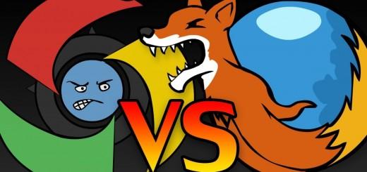 Chrome vs Firefox Browser