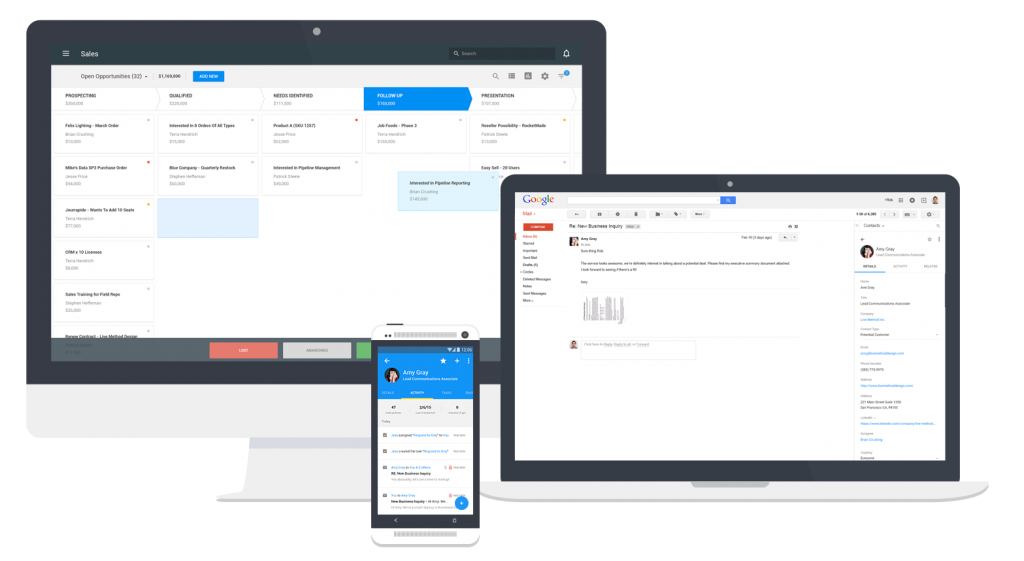 ProsperWorks CRM For Chrome