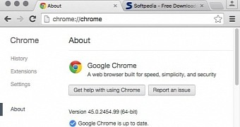 Google Chrome 45 0 2454 99 Critical Update Released with New