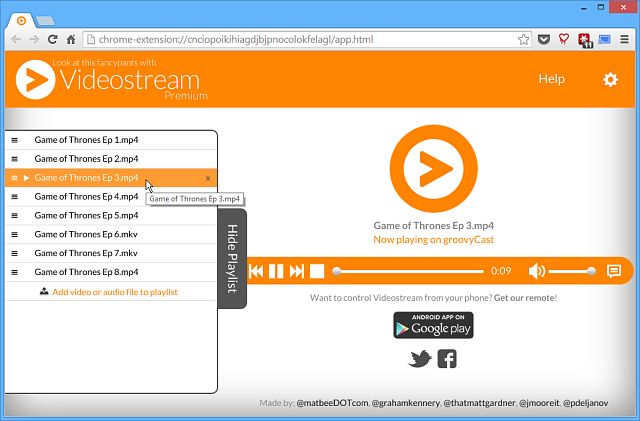 VideoStream-Playlist-for-Chromecast   Chrome Geek
