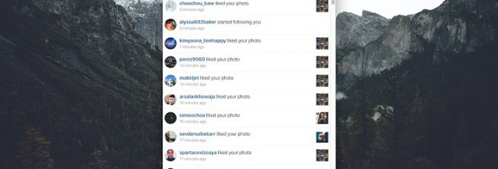 Instagram app for Chrome Browser
