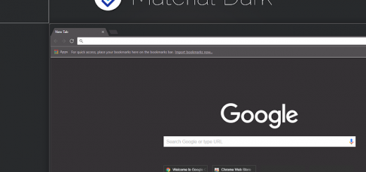 Material Dark Theme For Chrome