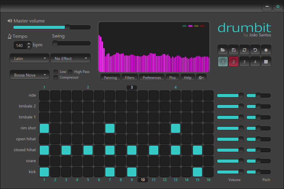 Drumbit For Chrome