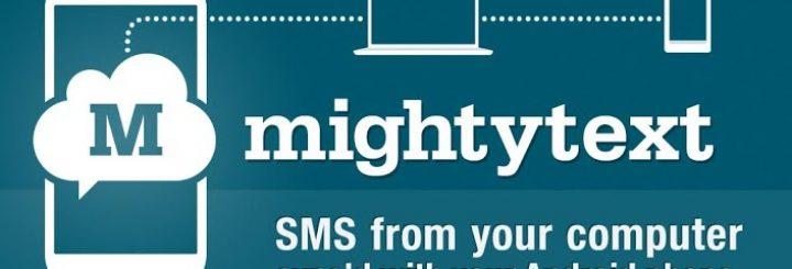MightyText App For Chrome