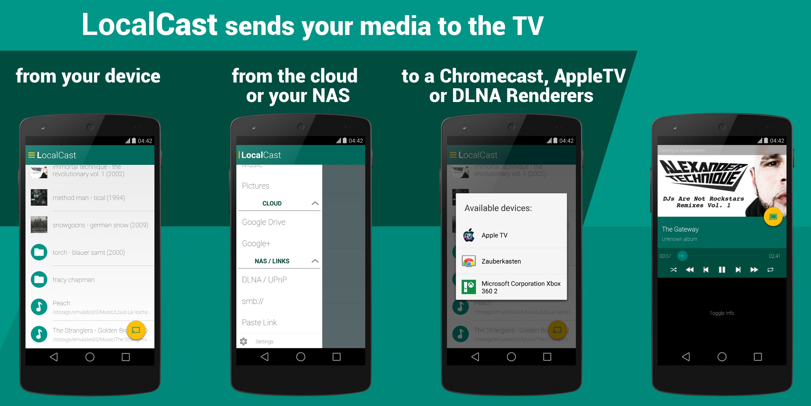 localcast android