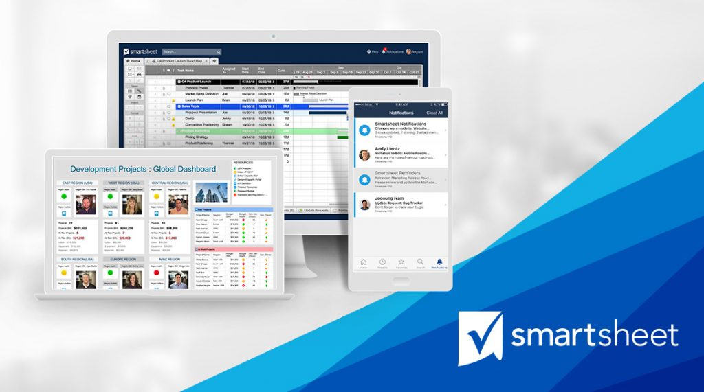 Smartsheet on Chrome