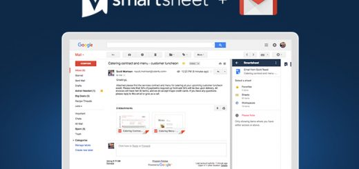 Smartsheet for Gmail