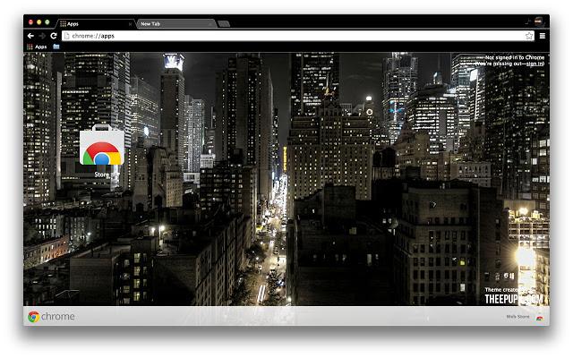 New York City Night Time Theme