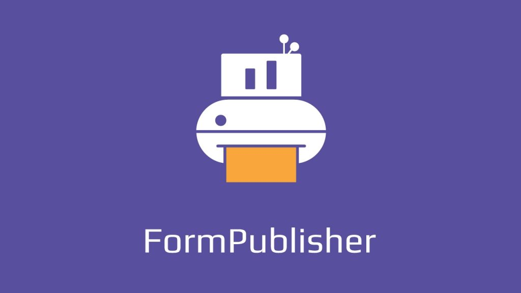 Form Publisher Official Logo