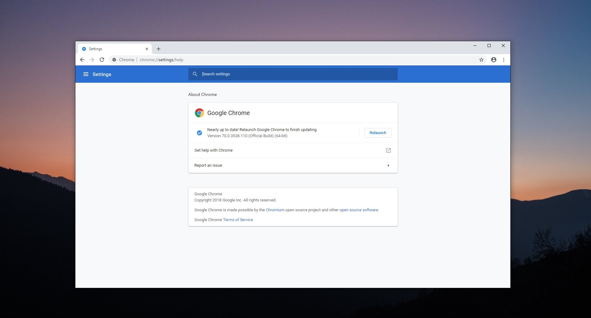 Google Chrome 70 Free Download