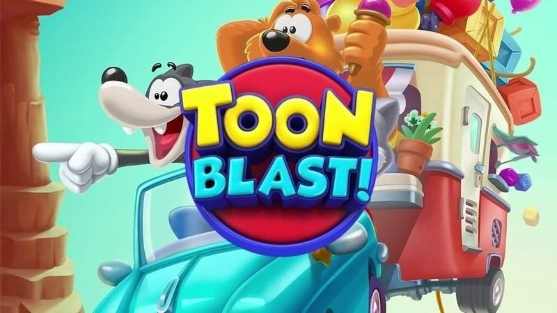 Toon Blast Official Logo