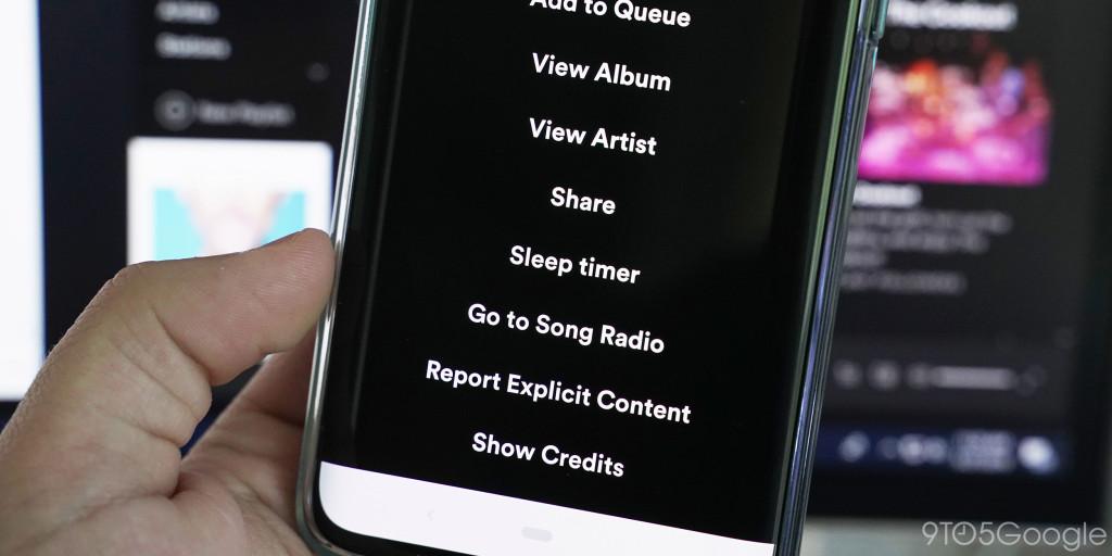 Spotify Sleeptimer