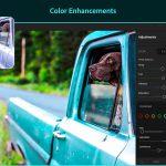Edit colors on lightroom