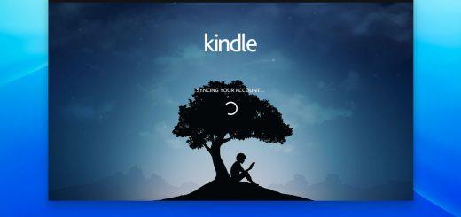 Amazon Kindle on Chromebook screenshot