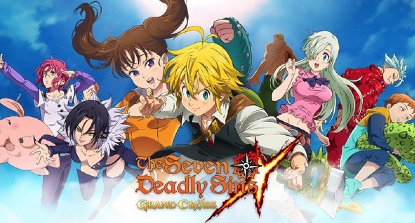The Seven Deadly Sins Grand Cross Official Logo