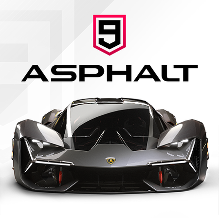 Official Asphalt 9 logo