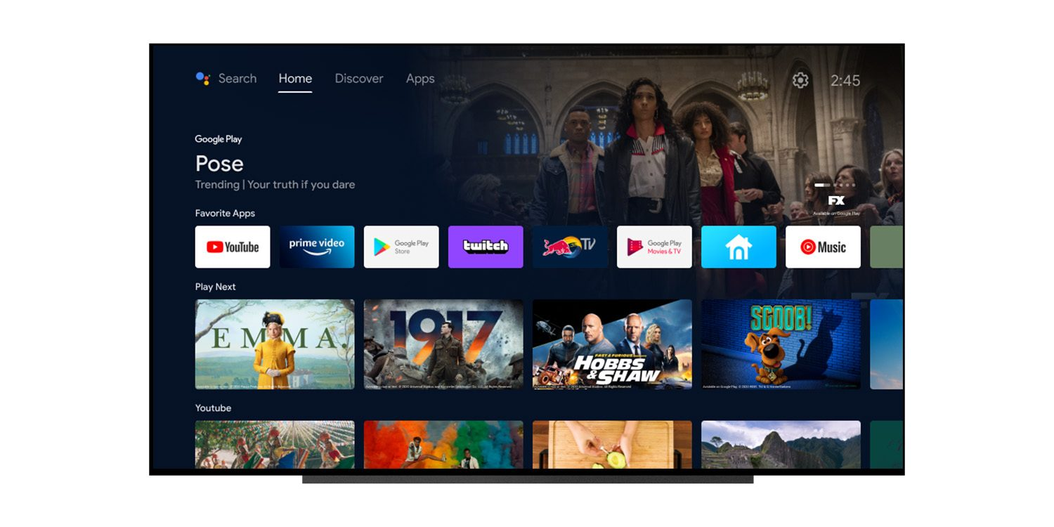 [Update: Rolling out] Android TV homescreen gets revamped w/ some Google TV goodness